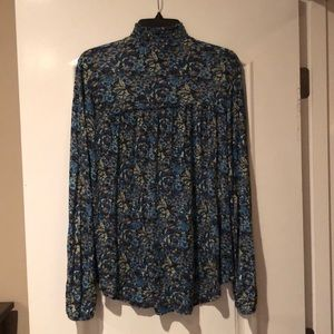 Lucky Brand Tops - Lucky Brand Floral Print Long Sleeve Top